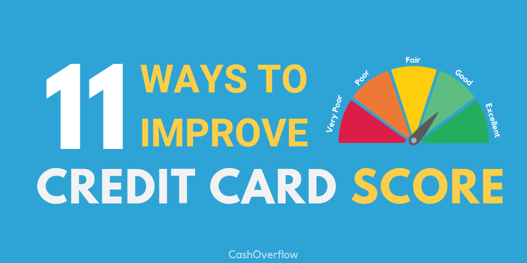 ways to improve credit score